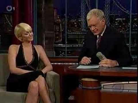 Paris Hilton on Late Show w/ David Letterman 9/28/2007
