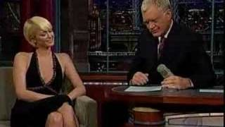 Paris Hilton on Late Show w/ David Letterman 9/28/2007