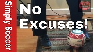 Soccer Drills You Can Do Inside | Soccer Indoor Training Drills - Quick feet Drills 1