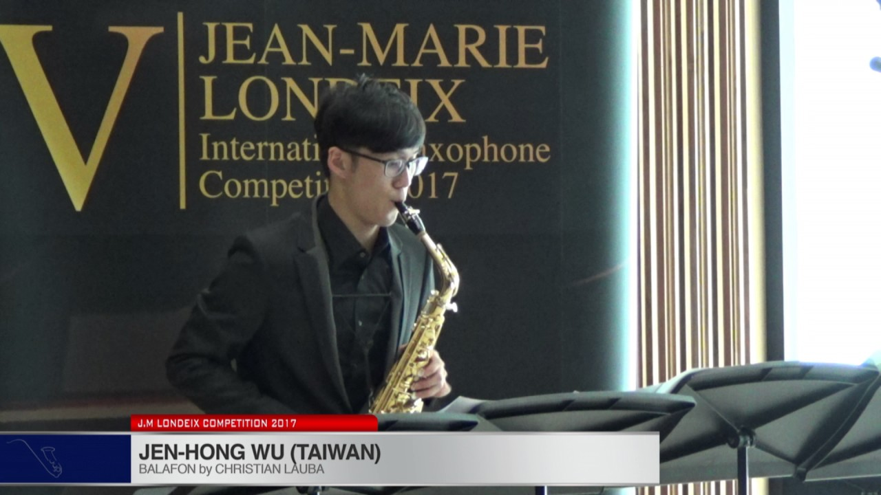 Londeix 2017 - Jen-Hong Wu (Taiwan) - Balafon by Christian Lauba