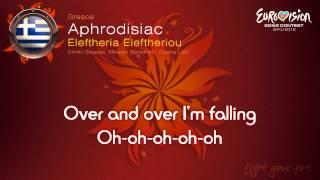 "Eleftheria Eleftheriou - ""Aphrodisiac"" (Greece) - [Karaoke version]"