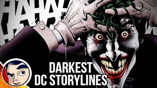 10 DC Comics Story lines Too Dark For Today