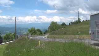Camper van on the Magdalensberg mountain, Austria : Sicily to Ukraine by camper van 57