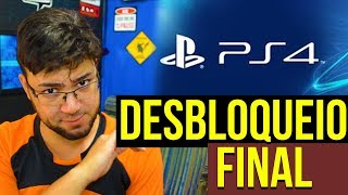 DESBLOQUEIO DEFINITIVO DO PS4 FOI LANÇADO 😱