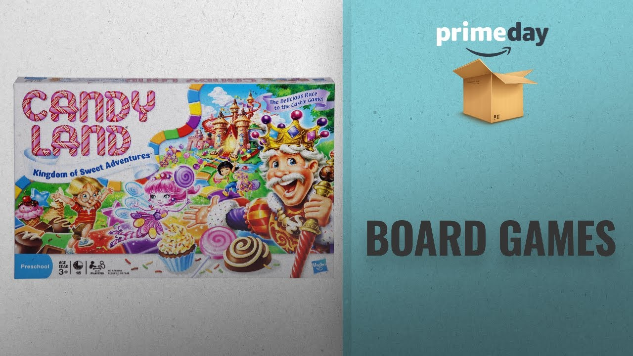 Save Big On Board Games Prime Day Deals Candy Land The
