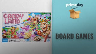Save Big On Board Games Prime Day Deals: Candy Land The World Of Sweets Game  Amazon Exclusive