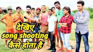 Sunil Saxena suting time vidio singer Pawan Pardeshi  Ji #######