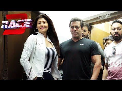 Salman Khan Ex Girlfriend Sangeeta Bijlani At RACE 3 Trailer Launch