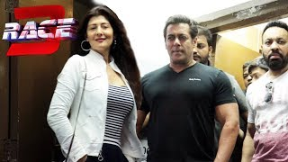 Salman Khan Ex Girlfriend Sangeeta Bijlani At RACE 3 Trailer Launch