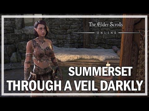 The Elder Scrolls Online - Summerset Quest - Through A Veil Darkly