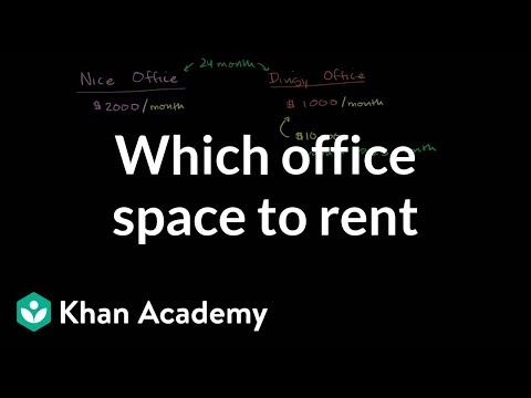 Back-of-envelope office space conundrum | Finance & Capital Markets | Khan Academy