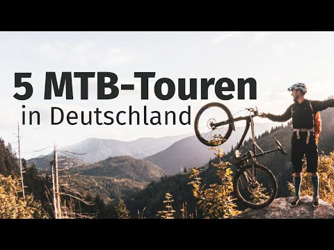 Top 5 Mountainbike-Touren (auch E-Bike) In Deutschland