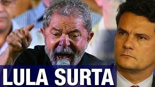 Lula surta, volta a culpar Marisa e apela para gritaria em frente ao juiz Sergio Moro - PARTE 2