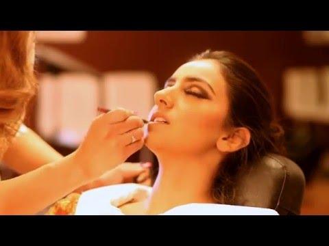 Gurkiran SIdhu make over by Honeys Beauty Lounge