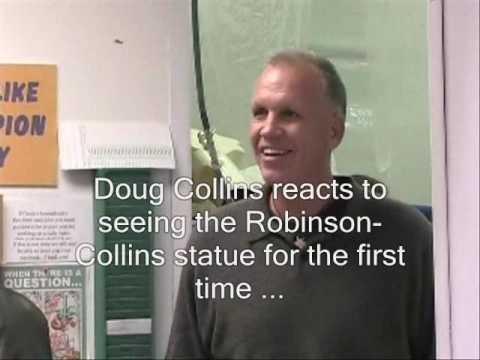 ISURedbirds: Doug Collins Reacts to Statue