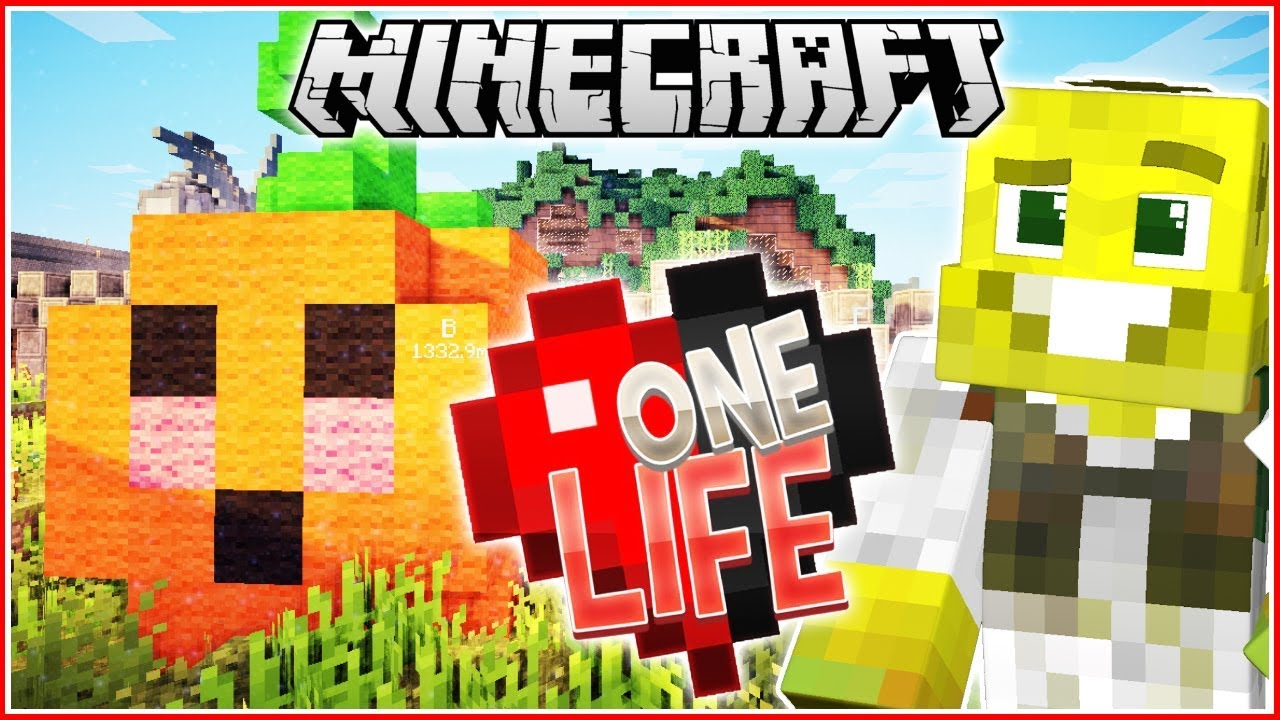 Halloween Decorations!! | Minecraft One Life | Ep.22 - YouTube