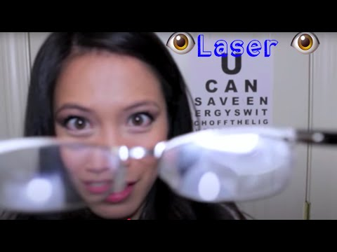 ASMR 3D Eye Exam and Lasik Consultation Roleplay by FairyChar