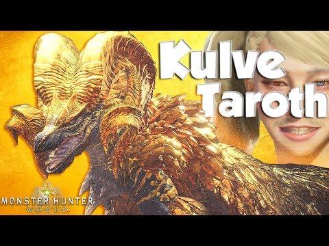 """Monster Hunter World - The Giant Golden Ram """"Kulve Taroth""""! (New Monster)"""
