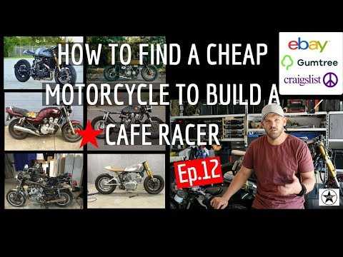 How to Find A Cheap Motorcycle to Build A Cafe Racer - The Secrets Ep.12