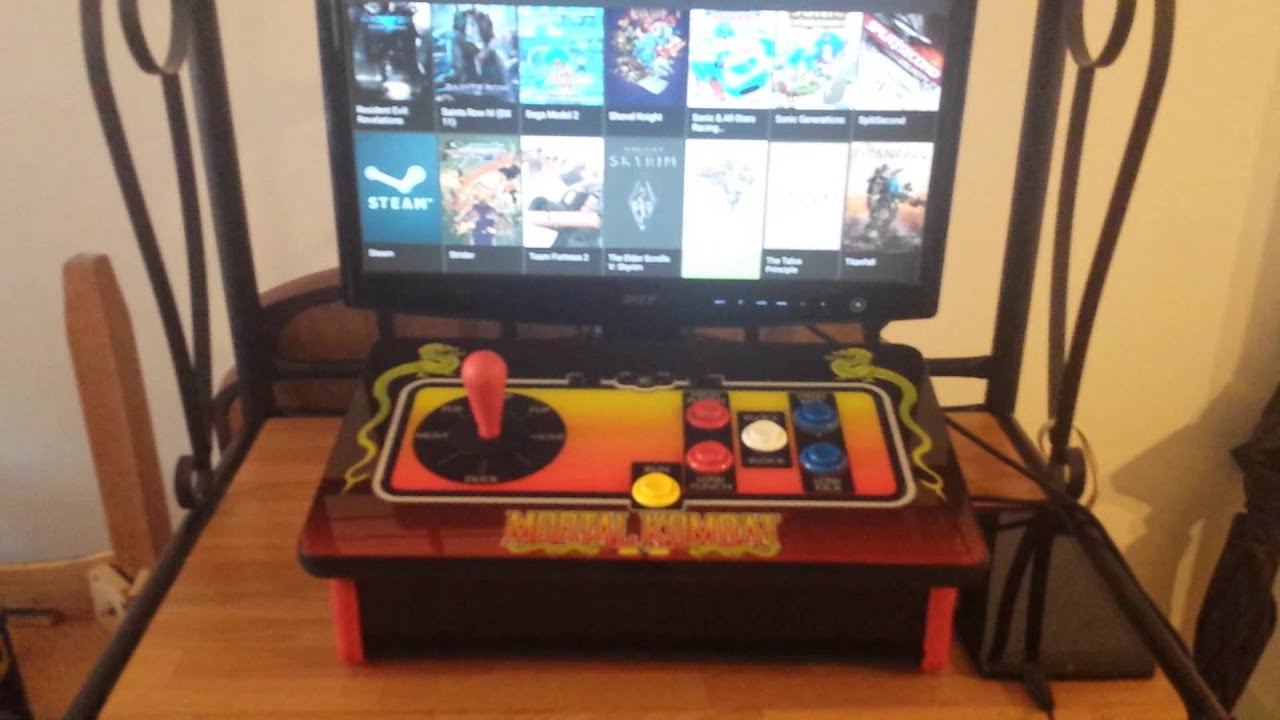 Benefits of android for a custom arcade cab over pc. - YouTube