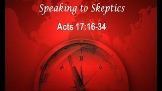 Speaking to Skeptics - The Journey Sermon Series 3