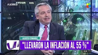 Alberto Fernández mano a mano con Luis Majul - La Cornisa (25/08/2019)