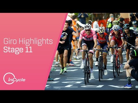 Giro d'Italia 2017   Stage 11 Highlights   inCycle
