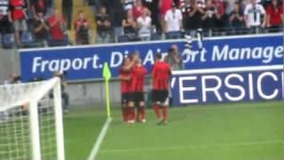 Eintracht Frankfurt - Union Berlin 30.09.2011 Torjubel zum 1:0