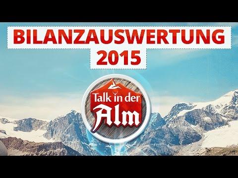 Deutsche Games-Branche: Bilanzauswertung 2015 ◆ Talk in der Alm