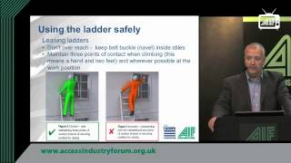 Guidance For Ladders & Steps: Simples? - The Ladder Association At She 2013