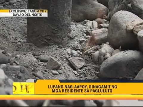Combustible ground stuns Tagum City residents