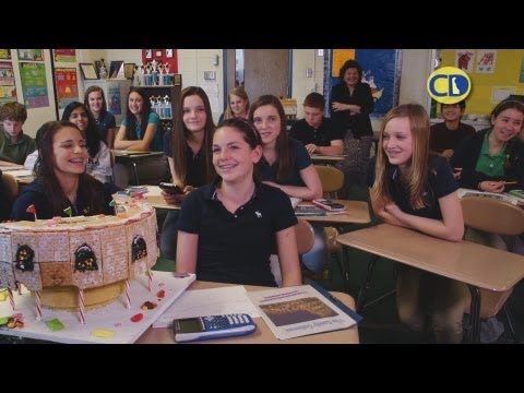 Geo-Bread Math at H.B. du Pont Middle School