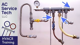 Pressure Testing Gas Lines For Leaks! Natural Gas & LP Propane!