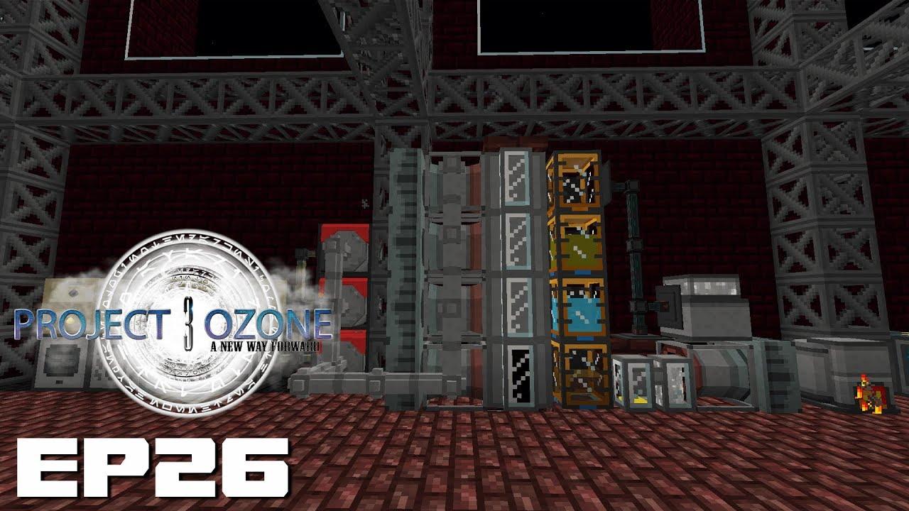 Project Ozone 3 EP26 - Mekani       PneumaticCraft!