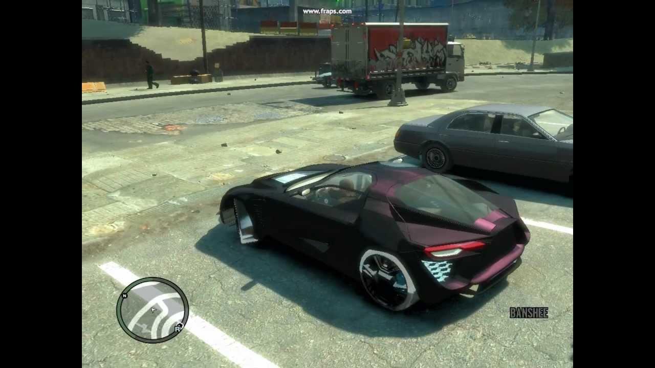 (HD)GTA 4 MODS(Cars,Bike,Funny etc..) - YouTube