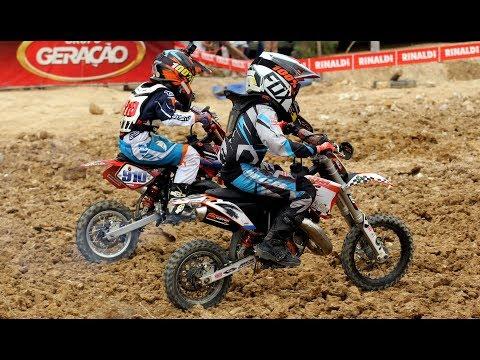 6ª etapa Campeonato Catarinense Motocross 2017 - 55cc Rancho Queimado SC