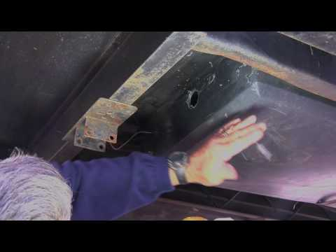 Installing a RV Holding Tank Clean Out System