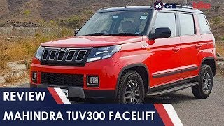 Mahindra TUV300 Facelift Review | NDTV carandbike
