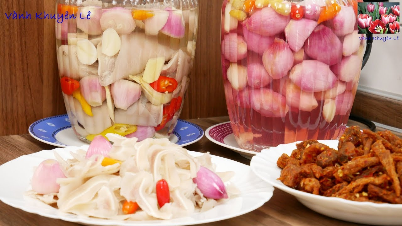 TAI HEO NGÂM CHUA NGỌT trắng giòn – Cách làm KHÔNG PHÈN CHUA, Món ăn để nhớ TẾT XƯA by Vanh Khuyen