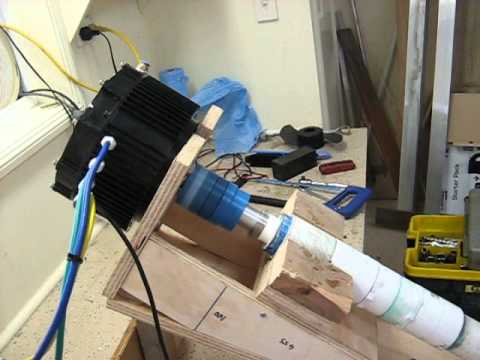 Electric Boat Inboard DIY - YouTube