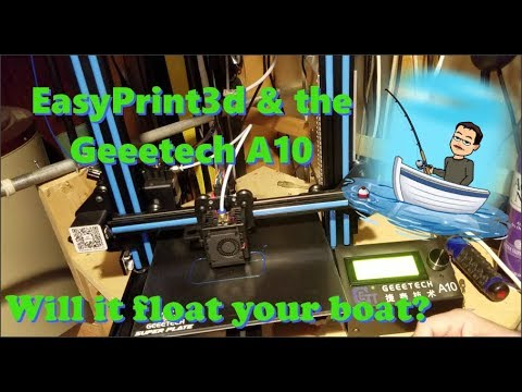 Tested! EasyPrint 3d  & The Geeetech A10