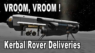 Wacky Rover Delivery Systems in Kerbal Space Program