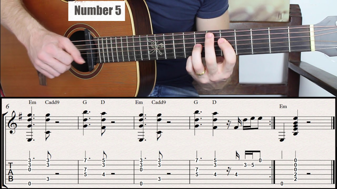 Same Chord Progression Played in 15 Different Ways. E minor Key
