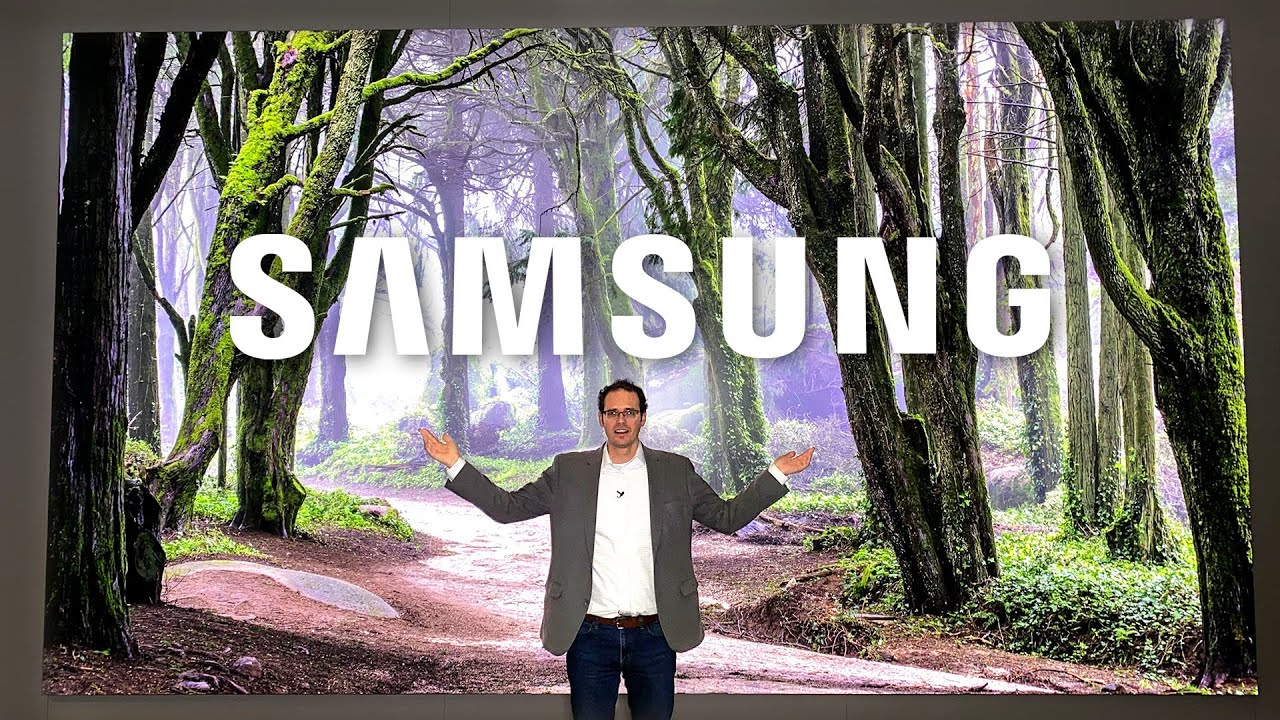 Samsung's 292 inch MASSIVE TV: The Wall is back!