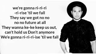 Jonas blue -Rise (lyrics) 🎵 ft. jack & jack
