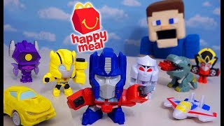 Happy Meal Toys Transformers Bumblebee Movie 2018 Trailer