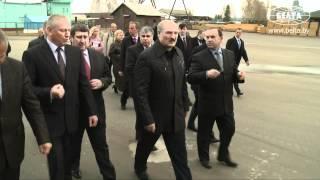 Лукашенко посетил Круглянскую ПМК №266