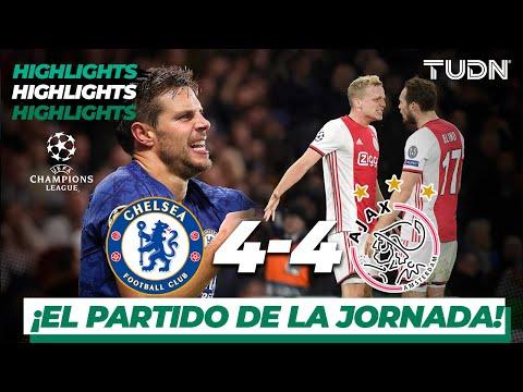 Highlights   Chelsea 4 – 4 Ajax   Champions League – J4 – Grupo H   Tudn