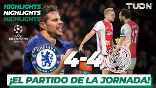 Highlights | Chelsea 4 - 4 Ajax | Champions League - J4 - Grupo H | TUDN