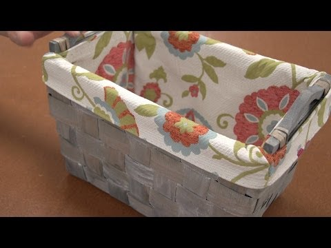 How to Make a Basket Liner